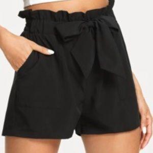 Shein black shorts